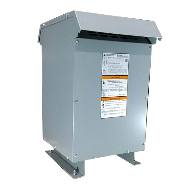 Factory New 25 KVA Single Phase Dry Type Transformer Primary 240 x 480 Secondary 120 / 240 10 Year Warranty 421-9185-000