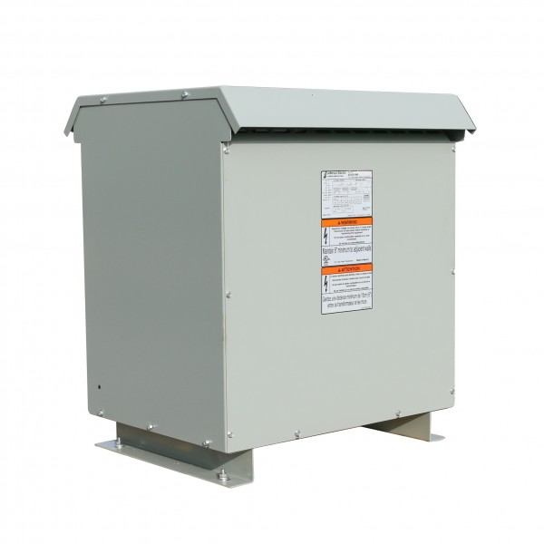 Factory New 112.5 KVA Dry Type Transformer 480 Delta 240 Delta CT120 3 Phase 10 Year Warranty