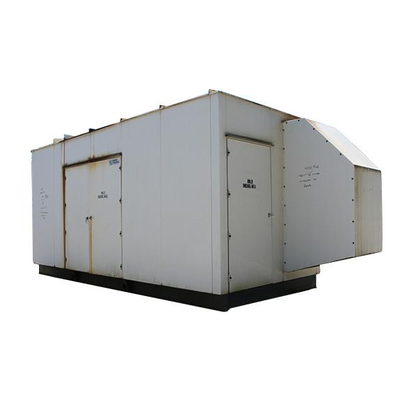 Used Diesel Generator Set For Sale 400 KW Detroit Series 60 Inline 6 480 Volt 3 Phase Enclosed  Model 6063HK35 14 Liter 635 HP