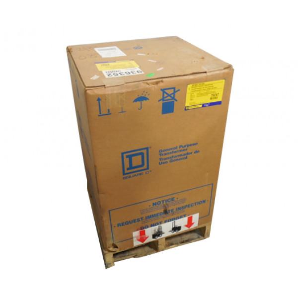 45 KVA Square D EE45T1814H Three Phase Dry Transformer HV 480 LV 480Y/277 New