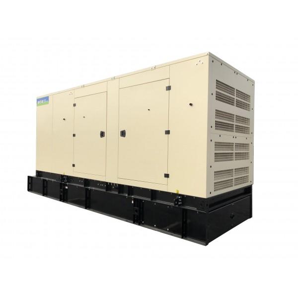 NEW 500 KW Enclosed Diesel Generator 480 Volts John Deere AKSA Power APD-ULJ500