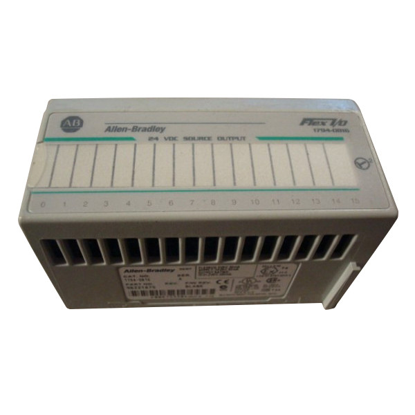 Allen Bradley 1794-OB16/A 24 VDC Source Output Used