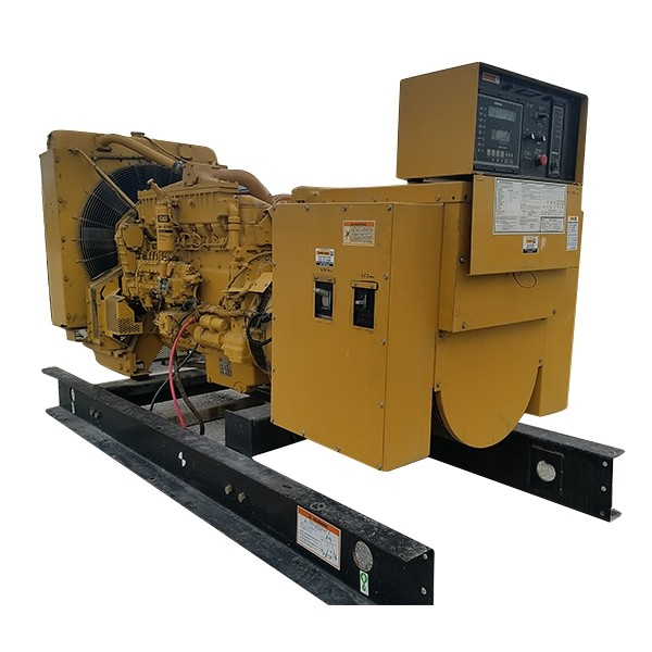 1997 400 KW Caterpillar 3406 Diesel Generator 480 Volts 587 HP 590 Hours Used