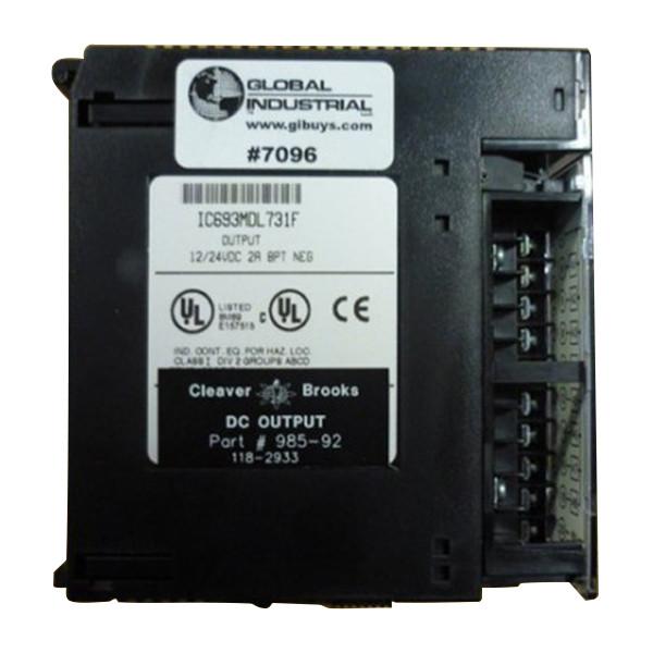 Cleaver Brooks CB Hawk DC Output Module 985-92 PLC IC693MDL731F 118-2933