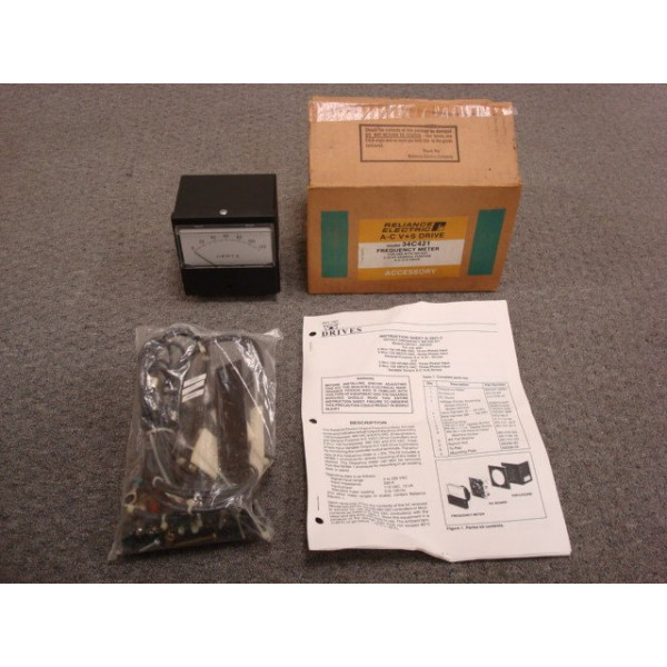 Reliance Electric Model 34C421 Frequency Meter Output Kit for A-C V★S Drives New NIB