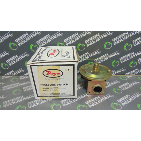 Dwyer 1920-0 Series 1900 Pressure Switch New NIB