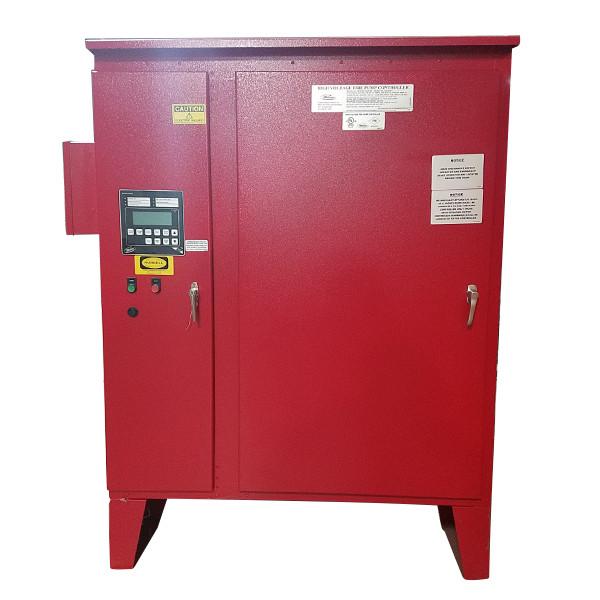 Metron MP600 4160V Electric Fire Pump Controller 350 HP 1502-V4DBDA 1503F-E4GCD New Surplus