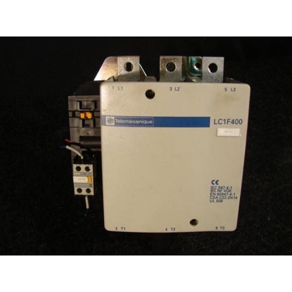 Telemecanique LC 1 F 400 Contactor 600 VAC 420 Amp