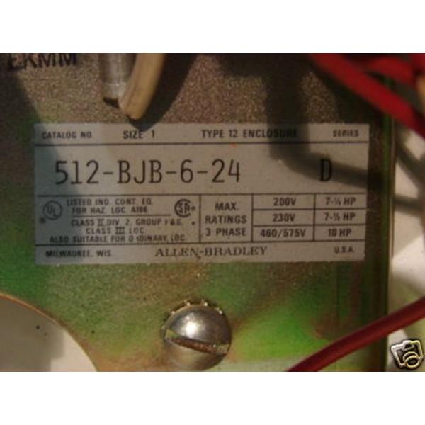Allen Bradley NEMA Size 1 Combination Controller 512