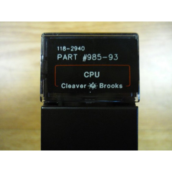 Used Cleaver Brooks CB Hawk CPU 985-93 118-2931 IC693CPU331-CE