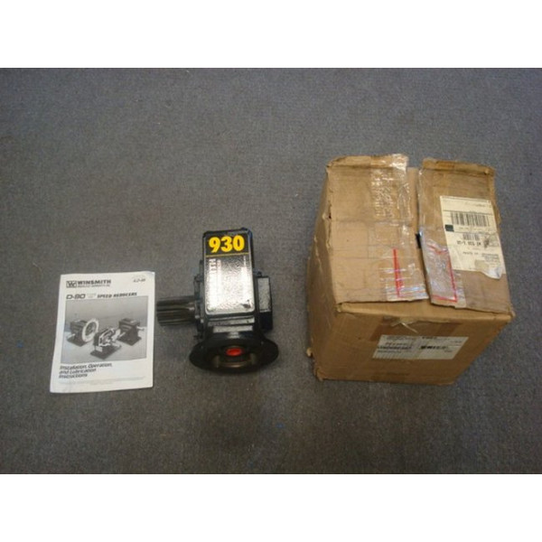Winsmith 930MDN Worm Gear Speed Reducer  New NIB