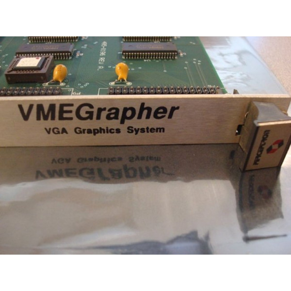Perceptron VMEGrapher 495-0092 VGA Graphics System Card Used