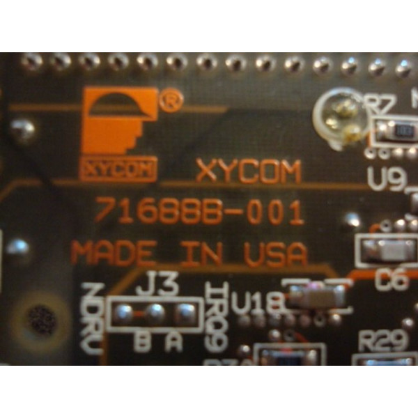 Xycom XVME-678 VMEbus PC/AT Processor Module Used