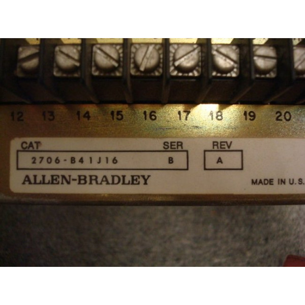 Allen Bradley 2706-B41J16 Dataliner Interface Used