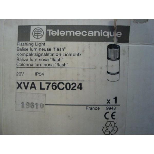 Telemecanique XVA L76C024 Flashing Beacon Blue New NIB