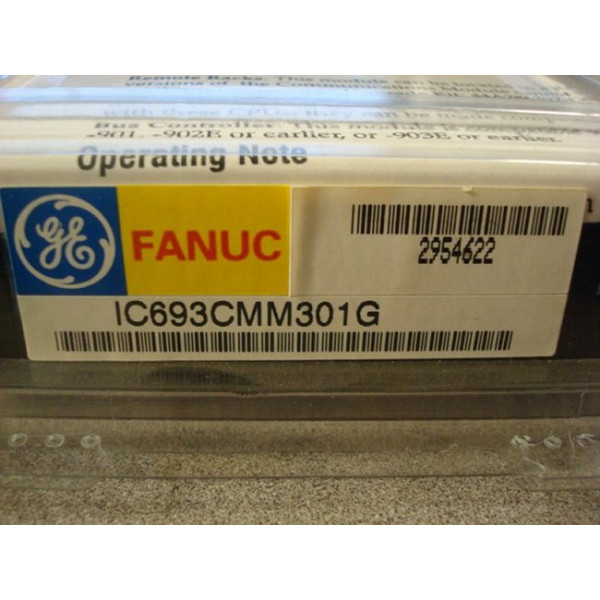 GE Fanuc IC693CMM301G Genius Communication Module New