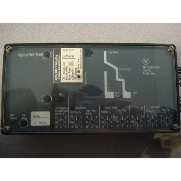 Westinghouse Digitrip RMS / R500 Trip Unit 1600A Used