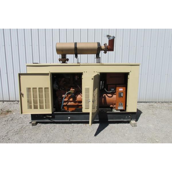 100 kw diesel generator set enclosed 277 480 volt 150 amp 3 phase