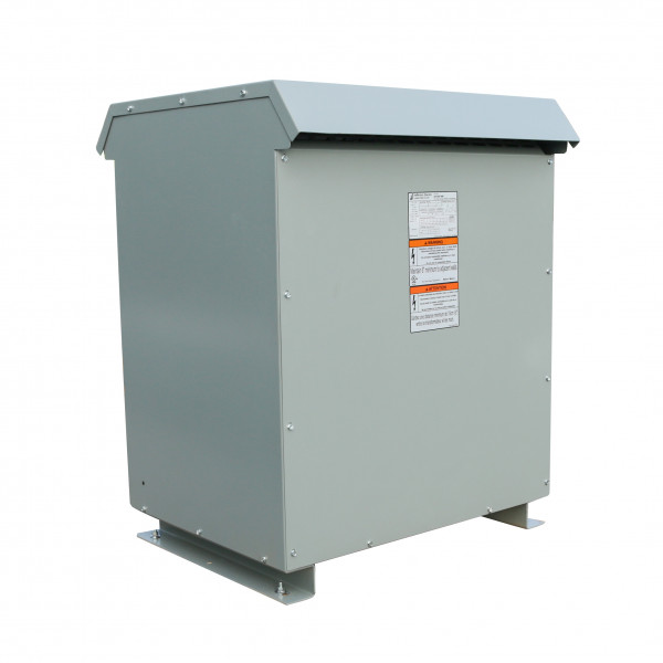 Factory New 150 KVA Dry Type Transformer For Sale 480 Delta Primary 240 Delta 120 CT Secondary 10 Year Warranty Jefferson Electric 423-9267-000