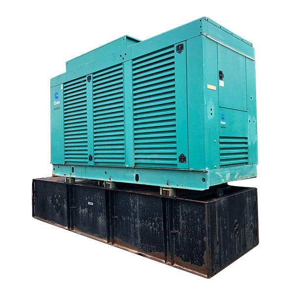 Used Diesel Generator For Sale 500 KW Cummins KTA-19-G4 Year 2001 Enclosed w/ Base Tank