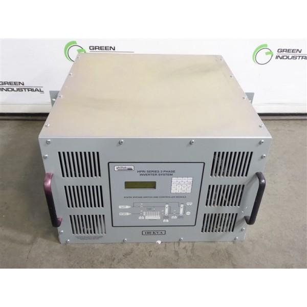Philtek HPRi-SBS-180K-120-3E Static Bypass Switch Module 180kVA Used