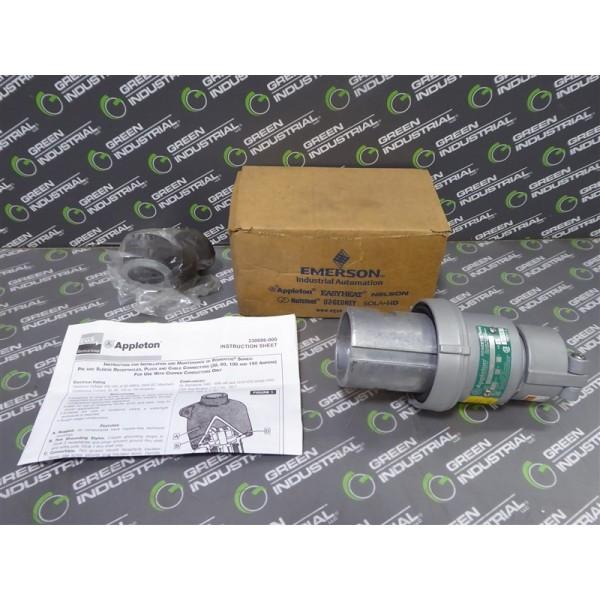 EGS Appleton Electric ACP6044BC Powertite Clamping Ring Plug New NIB