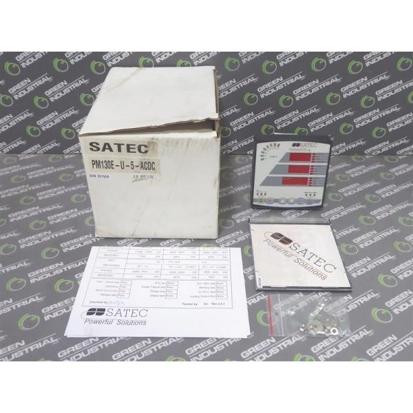 SATEC PM130E-U-5-ACDC TrueMeter Multifunctional Power Meter NEW NIB