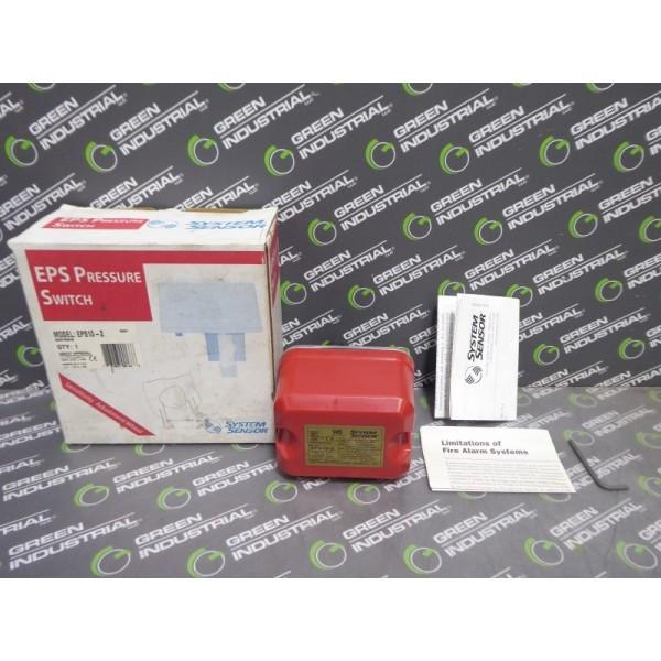 System Sensor EPS10-2 Alarm Pressure Switch 250 PSI Max New NIB