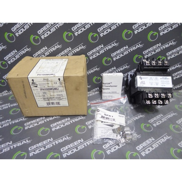 Hammond Power Solutions PH100MQMJ Industrial Control Transformer 100VA New NIB
