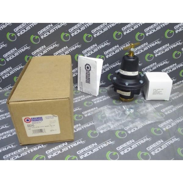 "Coilhose Pneumatics 8804G 1/2"" Regulator with Gauge 125 PSI Coil-8800-160 New NIB"