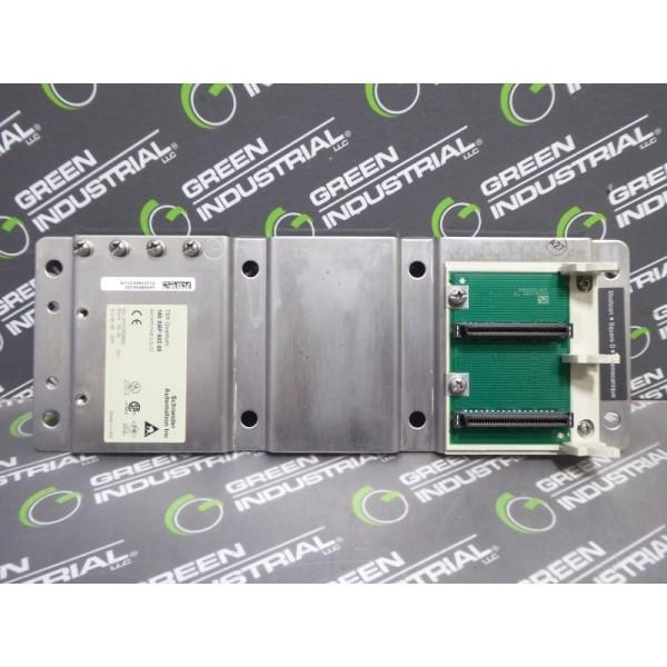 Schneider 140XBP00200 Modicon Quantum 2 Slot Backplane Rack PV:01 RL:00 Used