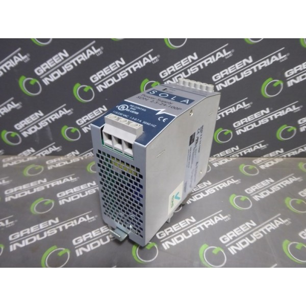 SOLA SDN 2.5-24-100P Power Supply Module 24VDC 2.5A TESTED Used