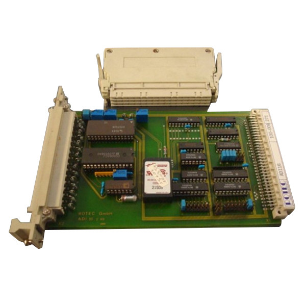 Rotec ADI-16 Input Card 100-008 VMEbus ADI16 Used