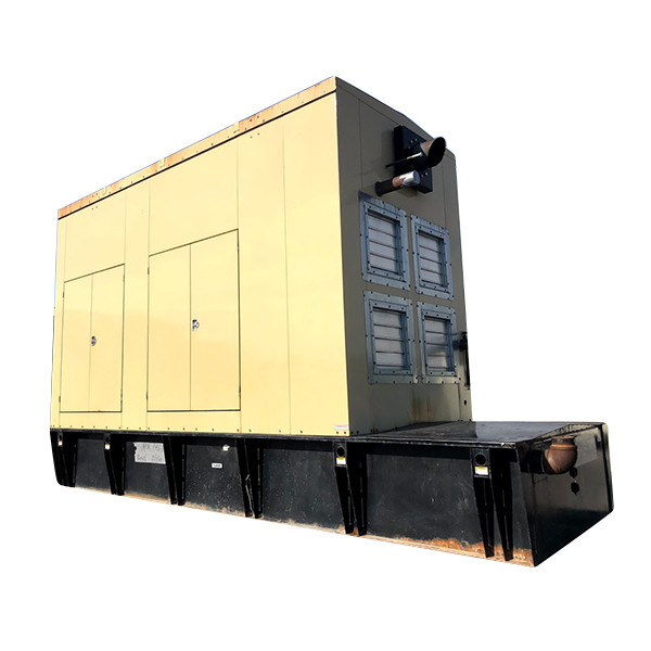 Used Diesel Generator 600 KW Cummins Onan VTA-28-G5 600DFGB 277/480 Volt Enclosed Base Tank Year 1994