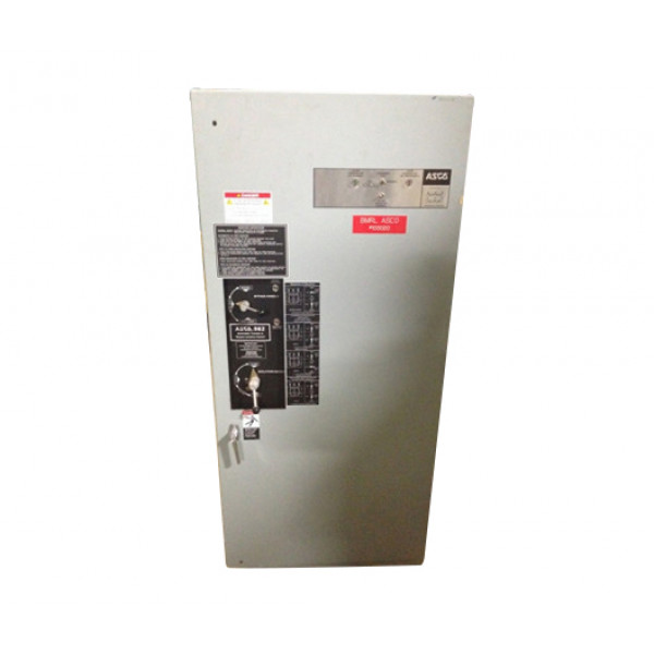Used 400 Amp Automatic Transfer Switch By Asco 7000 Series