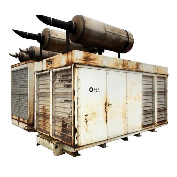 Used 500 KW Diesel Generator Cummins VTA-1710-G1 Enclosed Tested For Sale