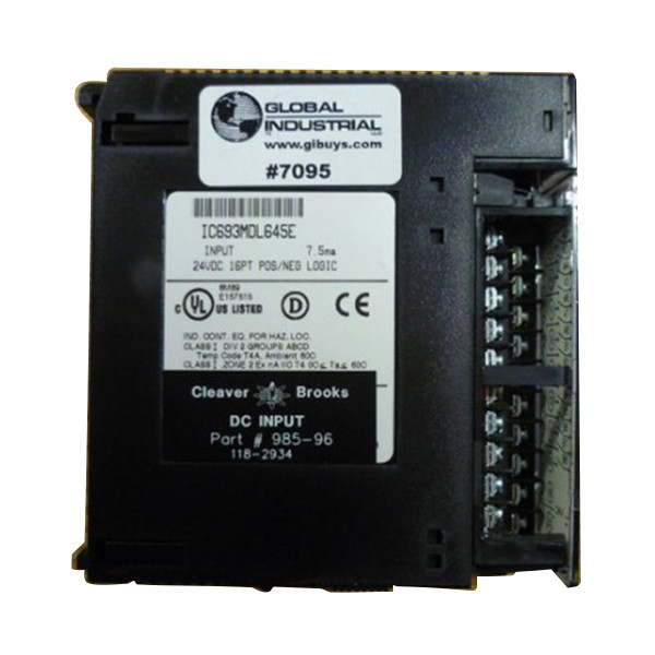 Used Cleaver Brooks CB Hawk DC Input 985-96 PLC 118-2934