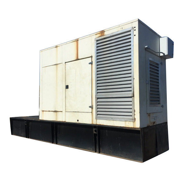 Used Diesel Generator 510 KW 480 Volts Kohler MTU 8V2000 R0837K06 Enclosed w Base Tank