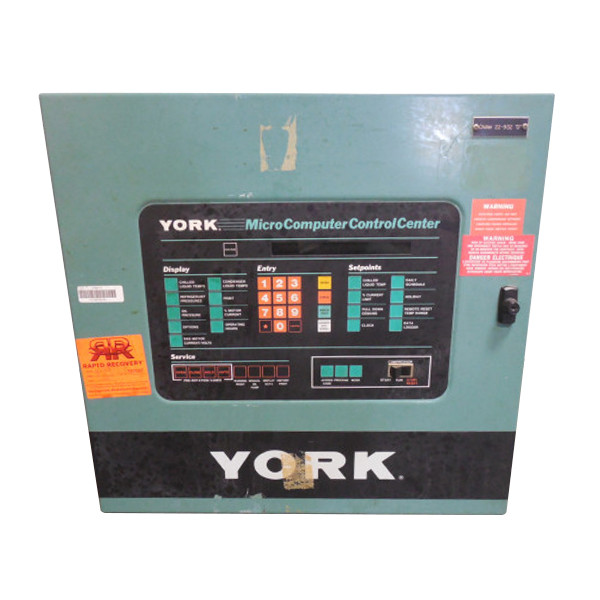 york 371 01200 002 micro computer control center assembly used telecom power plant diagram