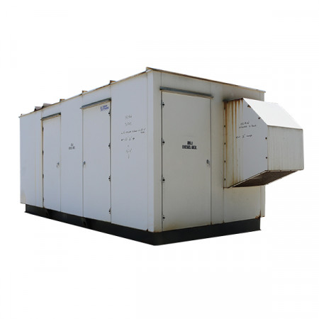 Used Diesel Generator For Sale 150 KW Cummins Model 6CTA8.3-G2 480 Volt 3 Phase 363CSL1607