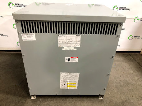 Used 75 KVA Dry Type Transformer 480 Delta Primary 208Y 120 Secondary GE 9T83B3874