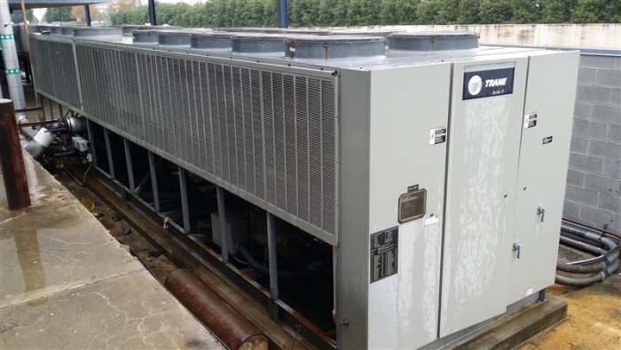 Trane Air Cooled chiller catalogue pdf serial number Lookup