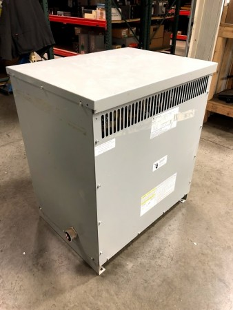 Used 50 KVA Single Phase Dry Type Transformer GE 9T83B2673 240x480 to 120/240 TESTED