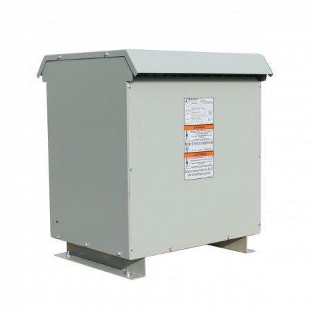 Factory New 112.5 KVA STEP UP Dry Type Transformer 240 Delta 480Y/277 10 Year Warranty 423-9253-000