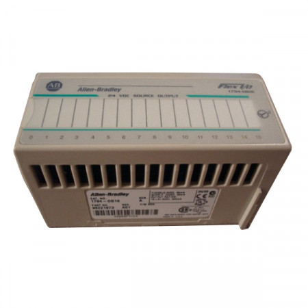 Allen Bradley 1794-OB16/A 24 VDC Source Output A01 Used