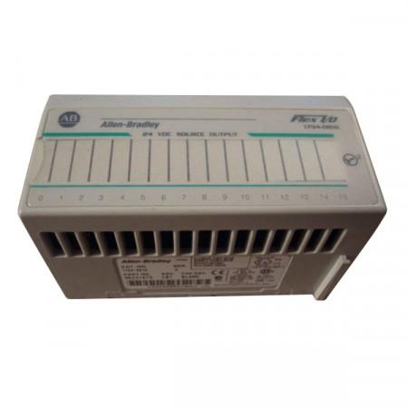 Allen Bradley 1794-OB16/A 24 VDC Source Output C01 Used