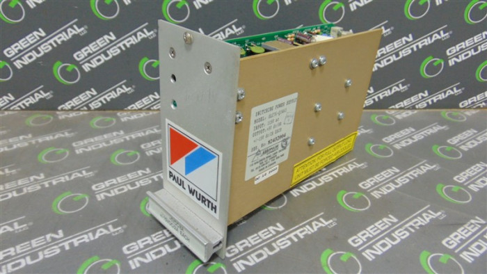 Absopulse / Paul Wurth OLC76-Q3463 Switching Power Supply Card Used