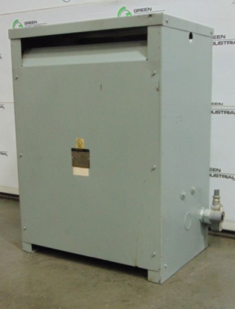 75 KVA Dry Type Transformer 480 Delta 208Y 120 V48M28T75G USED TESTED
