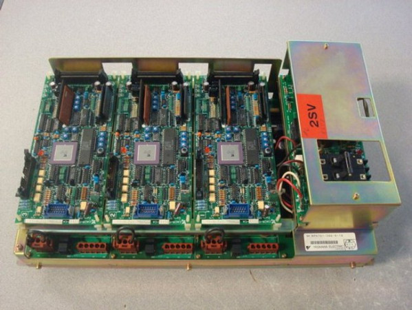 Yaskawa CACR-TS111Z1SR Servopak Servo Controller Used