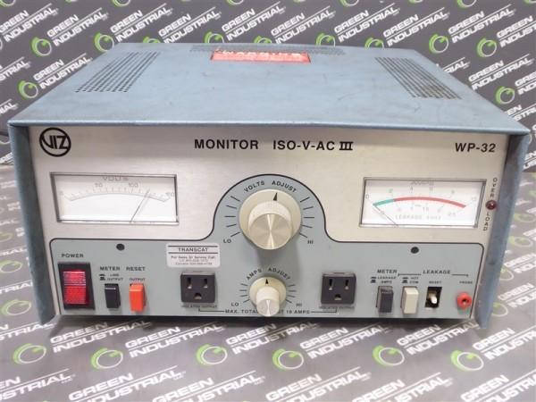 VIZ ISO-V-AC III Variable Isolation Transformer WP-32 0-150V Used